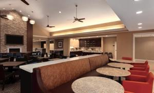 A restaurant or other place to eat at Homewood Suites Atlanta Airport North