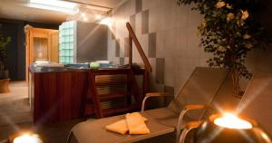 Spa and/or other wellness facilities at Hotel Les Mouettes