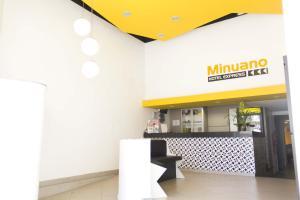 The lobby or reception area at Minuano Hotel Express próximo a Rodoviária, Santa Casa e Aeroporto