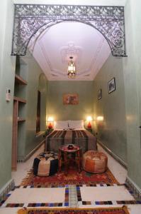 Restaurant ou autre lieu de restauration dans l'établissement Riad Lalla Aicha Hotel & Spa