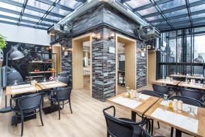 Restauracja lub miejsce do jedzenia w obiekcie Smart Hotel