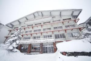 Chalet Shiga during the winter