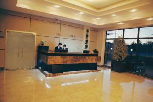 The lobby or reception area at Tskaltubo Plaza Hotel