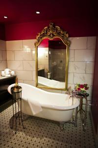 A bathroom at The Birchwood