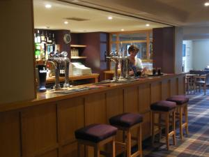 The lounge or bar area at Cross Keys Hotel, Kelso