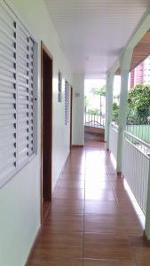 A balcony or terrace at Pousada Laura / Ziza