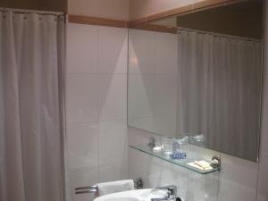 A bathroom at Hotel Rural Loizu