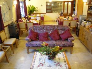 A seating area at Fortview House