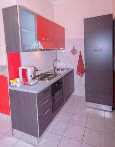Cucina o angolo cottura di B&B Al Cuore Del Borgo