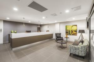 The lobby or reception area at Quest Liverpool