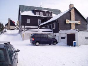 Hotel-Penzion Johanka during the winter