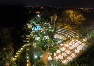 Hotel Della Valle с высоты птичьего полета