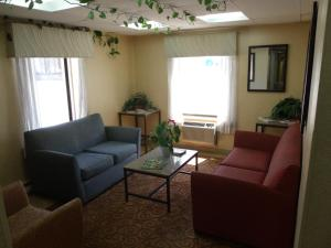 A seating area at Relax Inn