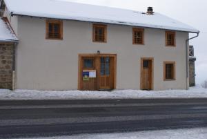 L'établissement Le Fournia en hiver