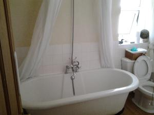 A bathroom at No. 9 Guest House