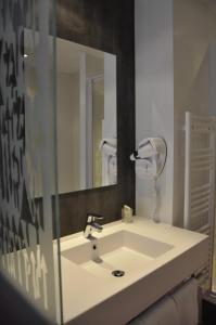 Salle de bains dans l'établissement Les Asteries Ploemeur-Lorient