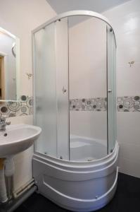 A bathroom at Smart