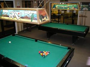 A pool table at Preferred RV Resort