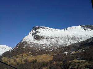 Lunheim in Geiranger during the winter