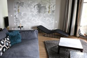 A seating area at Le Valmer