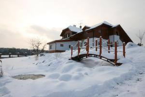 Penzion Honore during the winter