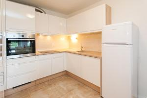 A kitchen or kitchenette at Apartment Katarina