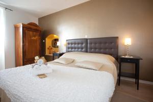Krevet ili kreveti u jedinici u objektu Bed & Breakfast Vila Baguc