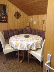 Essbereich im Ferienhaus