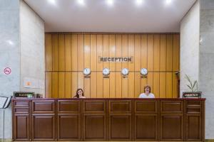 Лобби или стойка регистрации в Гостиница Татарстан Казань