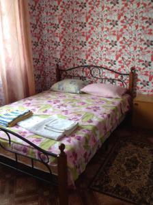 Кровать или кровати в номере Гостевой дом «Камо»