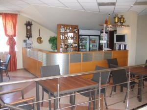 Лаундж или бар в Отель Маяк