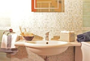 A bathroom at Casa Tiziano