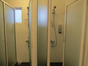 A bathroom at Chapelton House