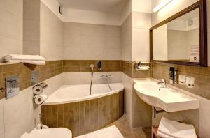 Kúpeľňa v ubytovaní Hotel Galileo Donovaly
