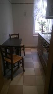 Küche/Küchenzeile in der Unterkunft Hotel Baltic Residenz