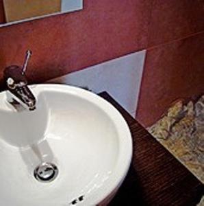 Ванная комната в Eos Studios