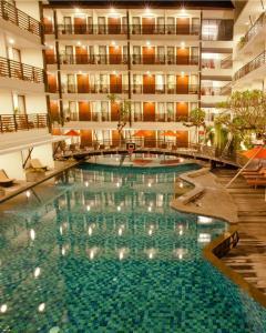 The swimming pool at or near Sun Island Hotel & Spa Kuta