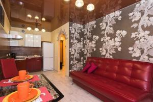 Гостиная зона в Apartment Il'icha
