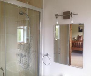 A bathroom at Amber B&B