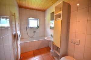 Ein Badezimmer in der Unterkunft Apartment Magdalena