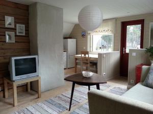 Televiisor ja/või meelelahutuskeskus majutusasutuses Lohusalu Apartment
