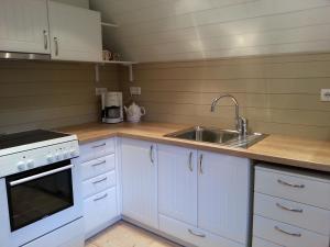 Köök või kööginurk majutusasutuses Lohusalu Apartment