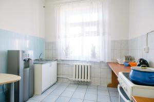 Кухня или мини-кухня в Звезда Хостел