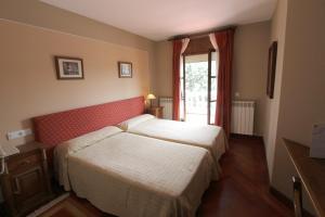 Cama o camas de una habitación en Hotel Restaurante Florida