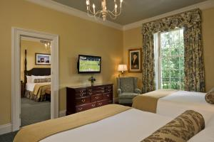 A television and/or entertainment center at The Otesaga Resort Hotel
