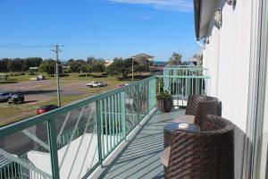 A balcony or terrace at Oceanside Hawks Nest