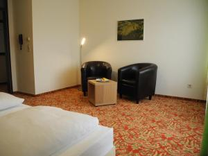 Гостиная зона в Hotel Restaurant Schachener Hof