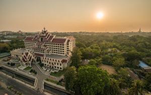 Rose Garden Hotel a vista de pájaro