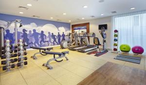 The fitness center and/or fitness facilities at Hampton by Hilton Bournemouth