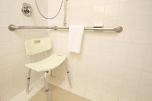 A bathroom at Holiday Inn Monclova, an IHG Hotel